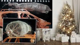 Vánoční stromek jako smrtící zbraň: Špatné upevnění může skončit tragédií!
