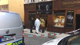 Živě z Teplic: Přepadené klenotnictví! Na místě zasahují policisté