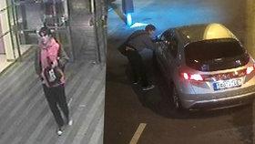 """VIDEO: Groteska u """"hlaváku""""! Mladík skočil taxikáři do kufru, pak mu z auta ukradl dva mobily"""