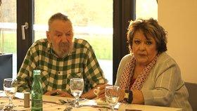 Zraněná Bohdalová v Alzheimer centru: Setkání s exmanželem Stašem