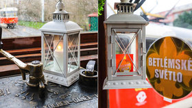 O víkendu vyjede do ulic Prahy tramvaj s betlémským světlem. Bude ho rozdávat dál