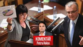 """Komentář: Cena za vládu s ČSSD a komunisty? """"Díra"""" 40 miliard v rozpočtu"""
