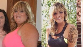 Maryn zhubla o 50 kilo za 1 rok. A stačilo hlavně vypít spoustu vody!