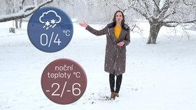 Silné sněžení zasáhne velkou část Česka. Hrozí vichr, lijáky o víkendu zvednou hladiny řek
