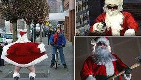 7 nejhorších Santa Clausů se záznamem v trestním rejstříku: Pedofil, násilník i hulič rozdávající marihuanu