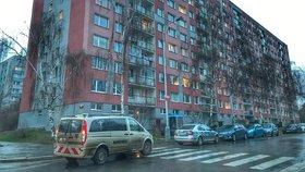 Dvojitá vánoční sebevražda na Hájích: Muž (†49) na místě zemřel, žena (51) skončila v nemocnici