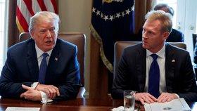 """Pentagon povede """"talentovaný Patrik"""". Trump udělá šéfem nynějšího náměstka"""