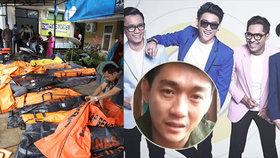 Obří tsunami spláchla kapelu z pódia: 4 členové jsou mrtví a bubeník nezvěstný, oznámil zdrcený zpěvák