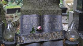 Na Vyšehradě lidé vzpomínali na Karla Čapka. Zemřel na Boží hod před 80 lety