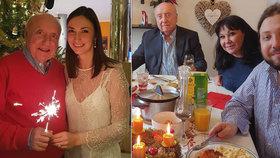 Vánoce nevěrníka Slováčka: U stolu s Dádou, u stromečku s Gelemovou!