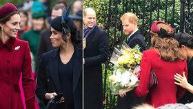 Smějící se kámošky Kate a Meghan? Byl to příkaz od královny