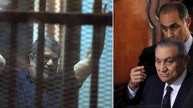 Exprezidenti v soudní síni: Mubarak (90) svědčil proti muži, který ho sesadil