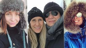 Celebrity na horách: Genzer cukruje s přítelkyní na Slovensku, Arichteva nabírá po StarDance síly v Jizerkách