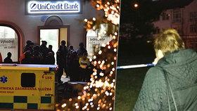 Svědectví z přepadení banky: Proboha, je tam můj syn, plakala zoufalá matka