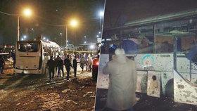 Teroristé útočili v dovolenkovém ráji: Výbuch turistického autobusu v Egyptě nepřežili čtyři lidé!