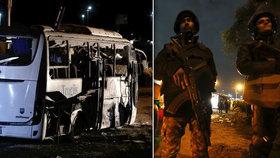 Egypt mstí smrt turistů: Po útoku na autobus při razii zabili 40 radikálů