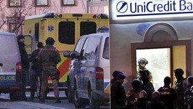 Desperát z banky v Příbrami byl obviněn: Hrozí mu trest jak za vraždu