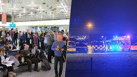 Zdrogovaný řidič vjel na letiště, v Hannoveru kvůli němu museli přerušit provoz
