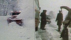 """Brutální ochlazení na Silvestra o 30°C: Za """"totáče"""" zmrzla i auta, televize šla jen večer"""