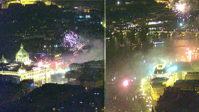 VIDEO: Apokalypsa nad Prahou! Podívejte se na neuvěřitelné letecké záběry slavícího města