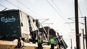 Basy piv létaly v bouři vzduchem. Při nehodě vlaku zemřelo šest lidí