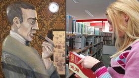 Sherlock Holmes oslaví nový rok čajem. V Ústřední knihovně budou přednášet odborníci