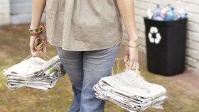 Nevyhazujte staré noviny! 8 tipů, jak je ještě skvěle využijete
