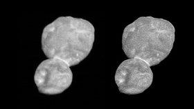 """""""Vypadá jako sněhulák."""" NASA ukázala ostrou fotku planetky Ultima Thule"""