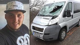 Dominik (†20) přivítal Nový rok, za pár hodin byl mrtvý: Cestou z večírku ho srazilo auto