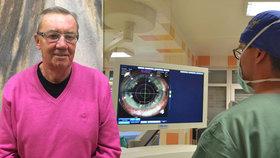 """Nebýt náhody, přišel by o zrak. Stanislav (70) prodělal čtyři operace. """"Ne každý má takové štěstí jako já,"""" říká"""