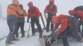 V Tatrách zabloudili čeští skialpinisté: Na místě zasahovala horská služba
