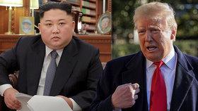 """Trump se chlubí, že zabránil """"obří válce"""". S Kimem jedná o dalším summitu"""