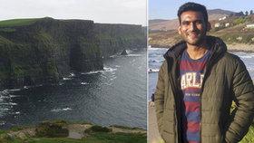 """""""Selfíčko"""" ho stálo život. Student se při focení na známém útesu zřítil ze 120 metrů"""