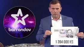"""Soukup dostal od Číňanů vale, odchází z Barrandova i jeho """"reklamky"""". Kvůli politice"""
