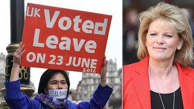 """""""Nácek. Lhářka."""" Stoupenci tvrdého brexitu napadli prounijní exministryni"""