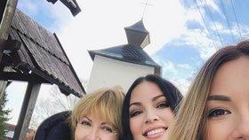 XXL Miss Ivana Christová s maminkou a dcerou: Krása se u nich dědí!