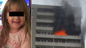 Vanesska (†5) uhořela zavřená ve skříni! Zdrcený otec ji při požáru nenašel