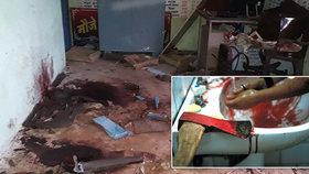 """""""Upír kanibal"""" zabil svou matku a vypil její krev. Policii uprchl"""