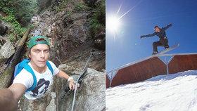 Legendární snowboardista Michal zemřel pod lavinou: Dojemná slova babičky, o kterou se staral
