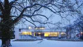 Vila Tugendhat: Krásná i v zimě!