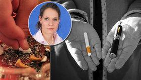 S kouřením přestaňte ze dne na den, radí expertka. Varuje i před e-cigaretami