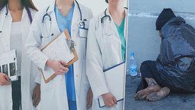 Ošetření pod mostem: Lékaři v terénu zachraňují bezdomovce. Ti umírají i kvůli studu