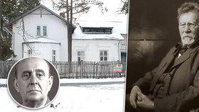 Honosné sídlo architekta Fanty: Prodávají vilu, v níž se zamiloval Masaryk!