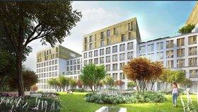V Holešovicích postaví moderní studentský kampus s byty. Nabídne kinosál, fitko i grilování na terase