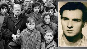 Hledá se chlapec z 50 let staré fotografie. Kdo vzdával úctu Palachovi?