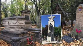 Stáli proti Napoleonovi i Hitlerovi. Na Olšanských hřbitovech se všichni vojáci sešli ve smrti