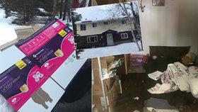 Foto z domu hrůzy: Tady vrah věznil 88 dní dívku (13), jíž zabil rodiče!