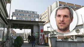 """Konec Nemocnice Na Bulovce? Primátor Hřib by ji rád viděl """"sestěhovanou"""" v Letňanech"""