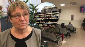 """""""Zneužívačů"""" dávek je v Česku minimum. Šabatová tvrdí: Boj se vede s nevinnými"""