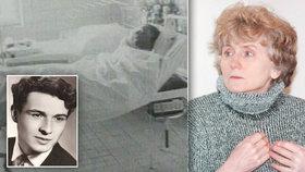 """Jan Palach na smrtelné posteli: """"Žádný z nás nechce zemřít."""" Lékařka popsala jeho poslední chvíle"""